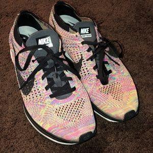 Nike Flyknit Racer Multicolor Sneakers